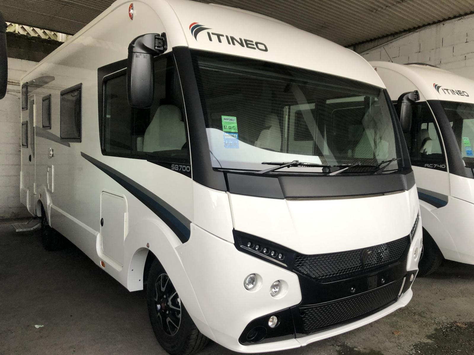 Itineo SB700 2020 By Rapido